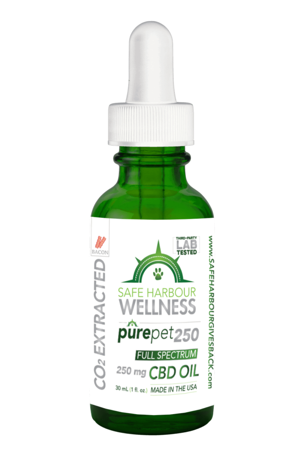 Case of PurePET 250 Hemp Derived CBD OIL