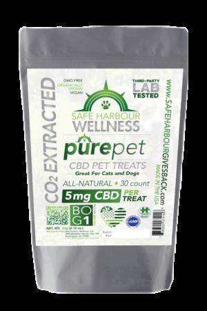 Case of PurePET CBD Pet Treats