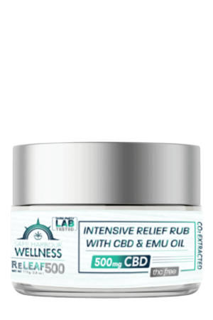 ReLEAF Intensive Relief Rub w. EMU OIL & CBD