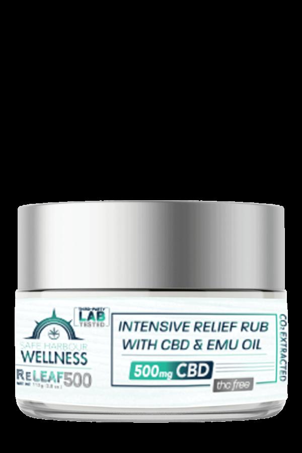 ReLEAF Intensive Relief Rub w. EMU OIL & CBD