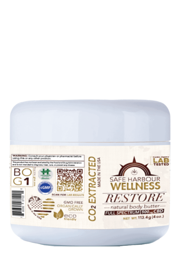 ReSTORE Body Butter FRONT