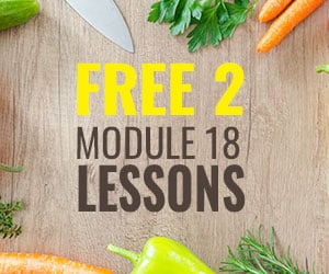 FREE 2 module 18 lessons Weight Loss Course, a $299 Value!